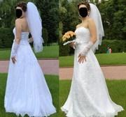 Свадебное платье р.44-48 (г.Лида)