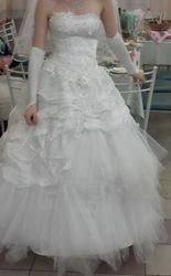 свадебное платье один рас одевала продам не дорого один рас   одевала