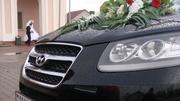 Свадебный Кортеж в г.Лида из Чёрных Внедорожников.