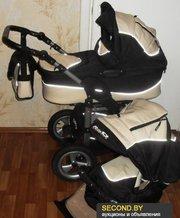 Детская коляска,  2 в 1,  универсальная