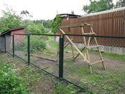 Продаю секции заборные с сеткой рабицей в Лиде