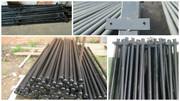 Металлические столбы для забора  с доставкой в Лиду
